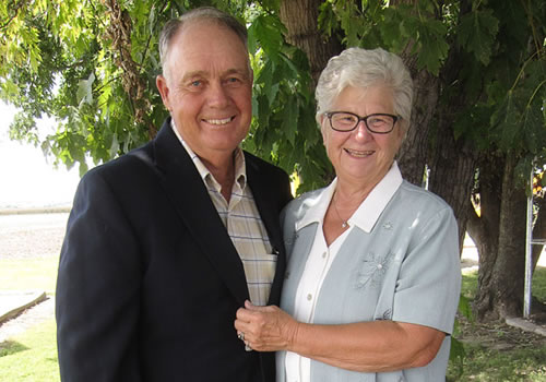 Larry and Janet Schaake